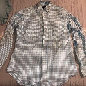 Button up collard polo long sleeve